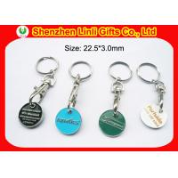 Quality LL-HK1004281 various design custom metal keychains holder coin keyring for promotional for sale