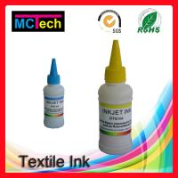 Wholesale 4 colors Texiles products DTG Ink for Direct to Garment Printing in digital printing from china suppliers
