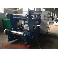 Quality Aluminum V Shape Metal Blade Foil Sheet Folding Machine ISO Fanrs FS600 for sale