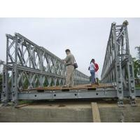 Quality DD Double Double Type Steel Bailey Bridge , Modular Expansion Joints Bridges for sale