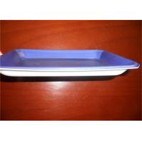 Wholesale Violet PS Food Grade Plastic Trays For Freezing Meat And Poultry Packaging from china suppliers