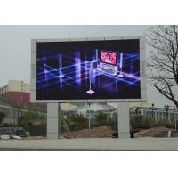 Wholesale Hd P10 Outdoor Advertising LED Signs / Full Color LED Display Billboard Fixed Installation from china suppliers
