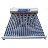 Wholesale Compact Pressurized Vacuum Tube Solar Collector 20 Tubes With Aluminum Frame from china suppliers