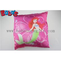 Wholesale High Quanlity Pillow Case Soft Baby Cushion with Printting Little Mermaid Girl from china suppliers