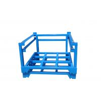 Quality Warehouse Storage Power Coated Steel Tyre Pallet Stacking Rack For Sale for sale