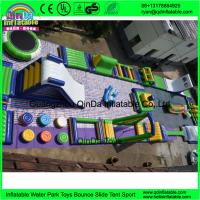 Quality Sea Inflatable water gmae slides inflatable water park for sale Giant water game for sale