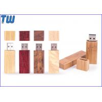 Wholesale Wooden Slim Cuboid Design 8GB Thumb Drive Cap with Magnet Inside from china suppliers