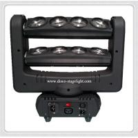 8 Heads AC90 - 240V RGBW Led Spider Beam Moving Head Stage Light