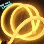 Wholesale 360 degree round mini led neon flex strip for xmas decoration 220v warm white mini 16mm from china suppliers