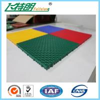 Wholesale Easy Installation Interlocked Rubber Floor Tiles For Volleyball Court from china suppliers