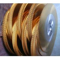 Wholesale Cold cut Golden color TiN Titanium Nitride Dmo5/M2 HSS circular saw blade from china suppliers