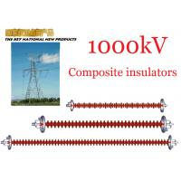 Wholesale 1000kV AC Overhead Line Insulators , Suspension Type Composite Polymer Insulator from china suppliers