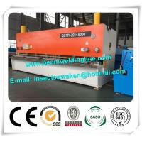 Wholesale Steel Plate E21S NC Hydraulic Swing Beam Shear Hydraulic Guillotine Shearing Machine from china suppliers