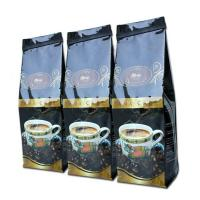 Wholesale Glossy Black Tin Tie Side Gusset Coffee Packaging Bag Gravure Printing from china suppliers