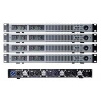 Wholesale 1U Digital power amplifiers Class D light weight Silver modern pannel 4 channels 5200 watts from china suppliers