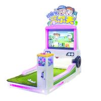Wholesale Booths Mini Golf Coin Operated Amusement Machines , Children Commercial Arcade Machines from china suppliers