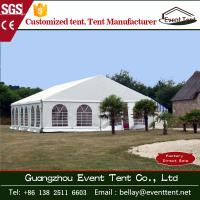 Wholesale 15x30m luxury large marquee event tent for wedding / seater marquee tent from china suppliers