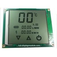 Metal PINs LCD Panel Screen Customized TN Segment For Water Heater Positive