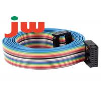 Wholesale 16 Way IDC Rainbow 16 Pin Flat Ribbon Cable PVC And Tin Wire Material from china suppliers