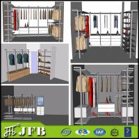 Wholesale aluminum  profile for bedroom sets closet with shoes rack from china suppliers