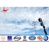 Wholesale 10kv - 550kv Medium Voltage Steel Tubular Poles With Galvanization Surface Treatment from china suppliers
