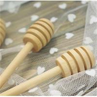 Wholesale Hot Sale Classic Wooden Honey Dippers Wood Honey Dipper Bulk Honey Accessories 16x2.8cm 100pcs lot from china suppliers