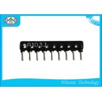 Wholesale Black High Precision Resistors , Stable 4 Pin - 14 Pin Thick Film Resistor from china suppliers