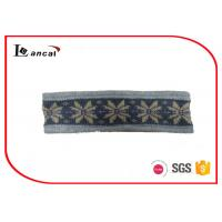 Wholesale Winter Warm Knitted Snood Scarf With Fleece Lining And Jacquard Design from china suppliers