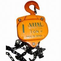 Wholesale Round Chain Pulley Block for Construction Hoist with High Strength and Security from china suppliers