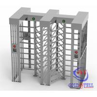 Wholesale Height 2300mm Stainless Steel High Security turnstile full height for Workshop Management from china suppliers