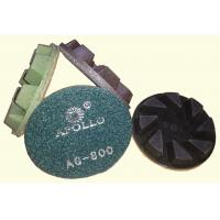 Wholesale High Performance 3'' Hard Diamond Ceramic Polishing Pads For Stone Processing from china suppliers