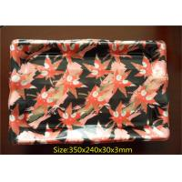 Wholesale Soft Plastic Packaging Trays Flower Color Supermarket Display With PP Woven Bag Packing from china suppliers