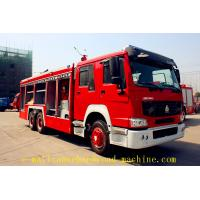 Wholesale SINOTRUK HOWO 6 x 4 12m3 fire fighting truck water tank from china suppliers