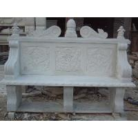 Wholesale Garden Stone Bench with Back from china suppliers