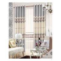 Wholesale Fashion Modern Dyed Solid Color Luxury Ready Made Curtains , Custom Bedroom Window Curtains from china suppliers