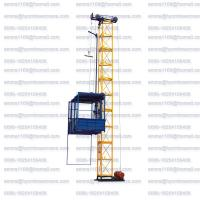 Wholesale SS100 Model Building Material Hoist Load 1000kg One Cage Factory from china suppliers