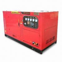 Wholesale 3 phase electric start Cummins diesel generator set KTA19-G4 with brushless self-excited AC synchronous Stamford generator from china suppliers