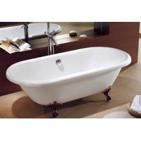 Wholesale cUPC clawfoot acrylic fiberglass bathtub,fiberglass soaking tub,foot soaking tub from china suppliers