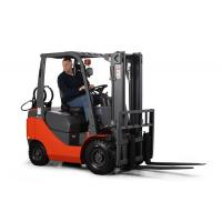 Wholesale 3.5Ton LPG forklift truck with duplex 3meter lift height Pneumatic tyres from china suppliers