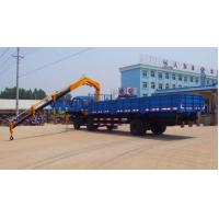 Wholesale small knuckle boom truck crane for sales from china suppliers