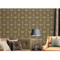 Wholesale European Damask Printing Embossed Washable Vinyl Wallpaper 0.53*9.5M from china suppliers
