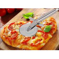 Wholesale Sanding Polishing Stainless Steel Pizza Cutter With Handle Filler 198 x 67 x 25mm from china suppliers