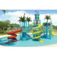 Wholesale Water Fun Park Kids Water Playground With Fiberglass Spiral Water Slide from china suppliers