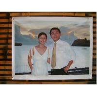 Buy cheap hand-painted custom portrait oil painting from photo from wholesalers