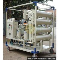 China 3000LPH VFD -50 Used Cooking Oil Filter Machine , Oil Purifier System SGS Approved on sale