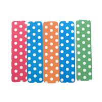 Wholesale Green Shorty Emery Board Nail File EVA / Sandpaper With Dot Design For Manicure from china suppliers