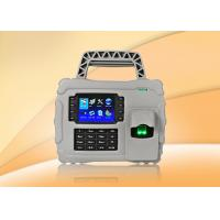 Quality IP65 Fingerprint Time Attendance System device , time attendance clock for sale