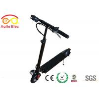 Wholesale Portable Childrens Electric Scooters , Folding Motor Scooter 10 Degrees Climbing Ability from china suppliers