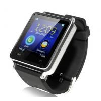 Buy cheap I7 handsfree Watch Phone Bluetooth Smart Watch Black Wearable Smart Watch Digital Watch Mo from wholesalers