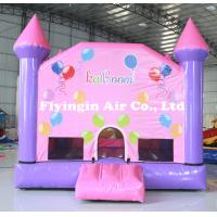 Wholesale Pvc Lawn Toy Crayon Bounce Inflatable Bouncy Castle with Blower for Children from china suppliers